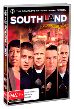 Southland The Complete Fifth Season DVD