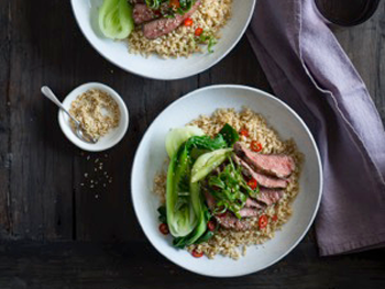 Soy & Sesame Flat Iron Steak