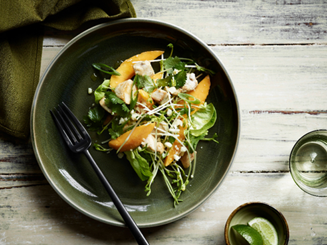 Spiced Chicken & Mango Salad