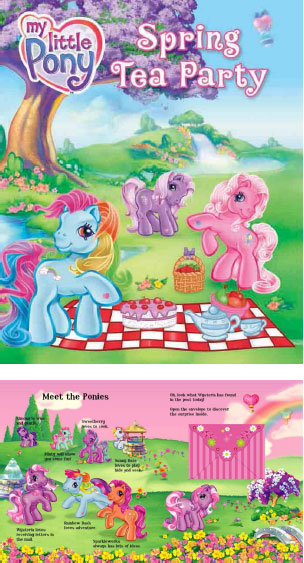 My Little Pony Spring Tea Party