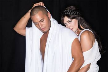 Stan Walker and Ginny Blackmore Holding You Interview