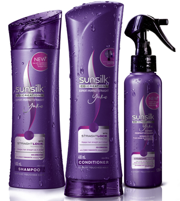 Sunsilk's Expert Perfect Straight Range