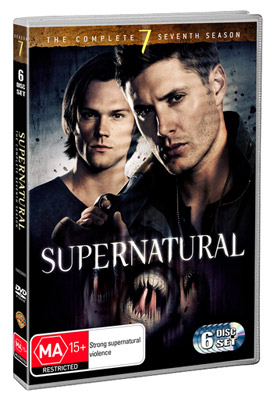 Supernatural The Complete Seventh Season DVD