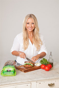 Susie Burrell Helga's Lower Carb Bread Interview