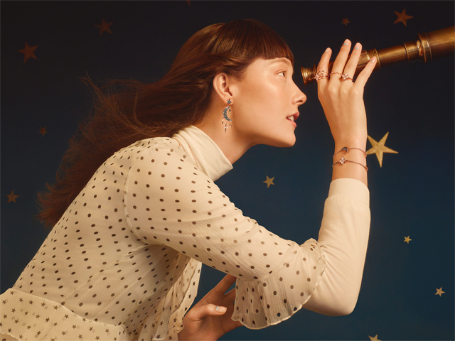 Swarovski Looks To The Stars For Its Cosmic Winter Collection
