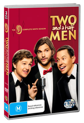 Two And A Half Men The Complete Ninth Season DVD