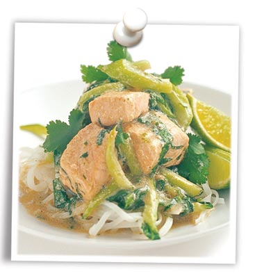 Thai Tasmanian Salmon with Bok Choy
