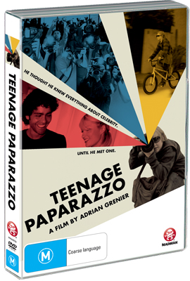 Teenage Paparazzo DVD