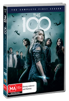 The 100: The Complete First Season DVD