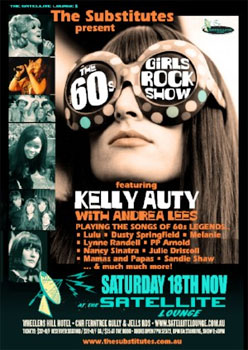 The 60s Girls Rock Show