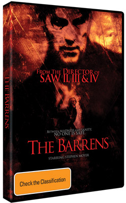 The Barrens DVD