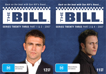 The Bill Series 23 and 24 DVD