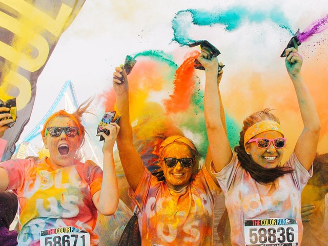 The Color Run Love Tour Sydney