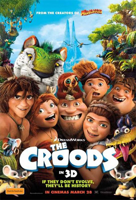 Nicolas Cage & Chris Sanders The Croods