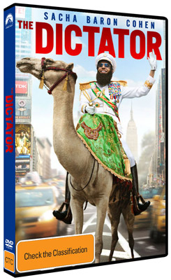 The Dictator DVD