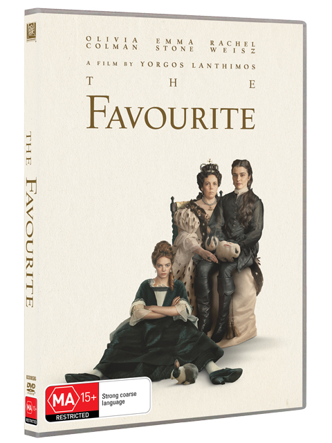 The Favourite DVDs