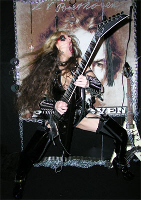 The Great Kat Beethoven Shred Interview