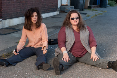 Sandra Bullock and Melissa McCarthy The Heat