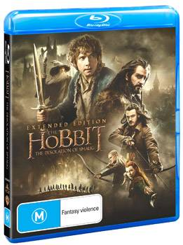 The Hobbit: The Desolation of Smaug Extended Edition DVD