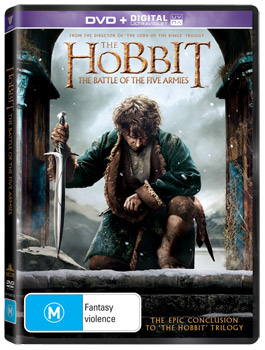 The Hobbit: The Battle of the Five Armies DVD
