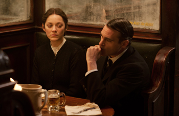 Marion Cotillard and James Gray The Immigrant
