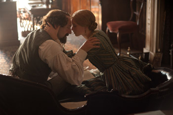 Kristin Scott Thomas and Felicity Jones The Invisible Woman