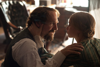 Felicity Jones and Claire Tomalin The Invisible Woman Interviews