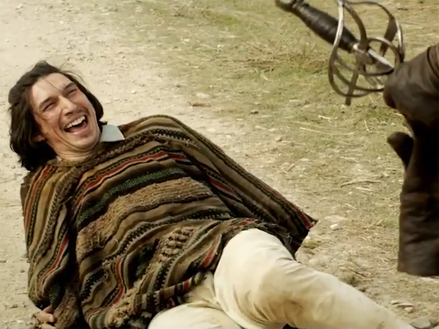 Adam Driver The Man Who Killed Don Quixote