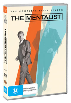 The Mentalist: The Complete Fifth Season DVD