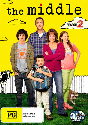The Middle The Complete Second Season DVD