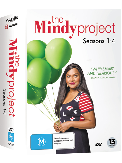 The Mindy Project Seasons 1-4 DVDs