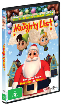 The Naughty List DVD