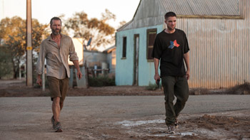 Guy Pearce and Robert Pattinson The Rover