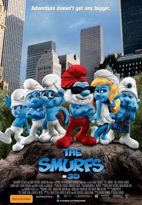 The Smurfs 3D Review