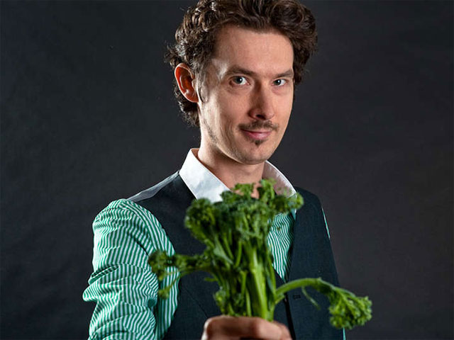 Luke Escombe The Vegetable Plot Interview