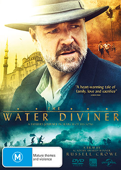 The Water Diviner DVDs