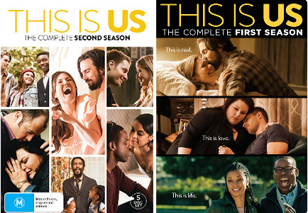 Win This is Us Season 1 & 2 DVDs