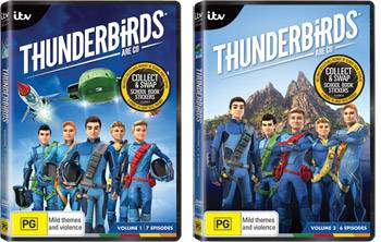 Thunderbirds Are Go DVD