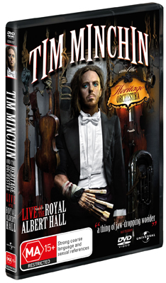 Tim Minchin and the Heritage Orchestra: Live at the Royal Albert Hall DVD