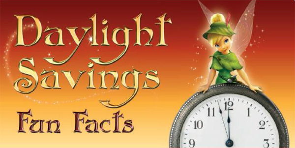 Daylight Savings with Tinker Bell and the Lost Treasure