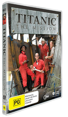Titanic The Mission DVD