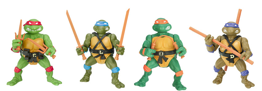 TMNT 25th Anniversary Figures