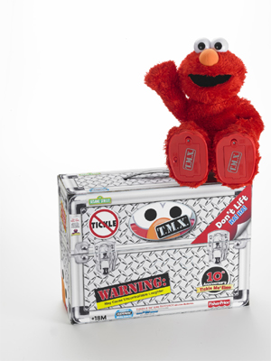 T.M.X. Elmo - Tickle Me X-Treme Elmo Toy