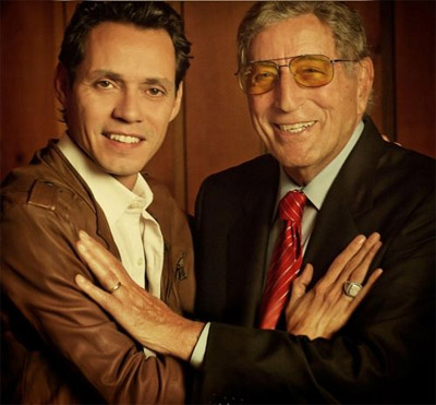 Tony Bennet and Marc Anthony For Once In My Life