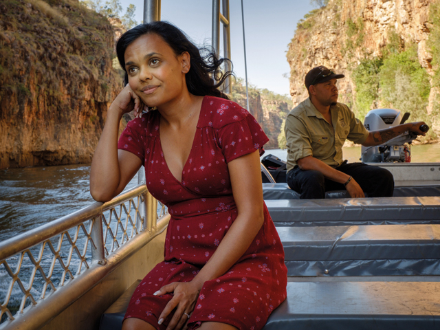 Miranda Tapsell Top End Wedding