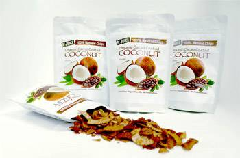 Top Juice Organic Cacao Coated Coconut