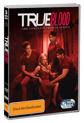 True Blood Season 4 DVDs