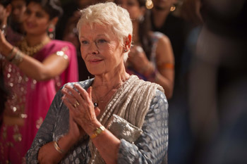 Judi Dench The Second Best Exotic Marigold Hotel