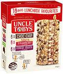 Uncle Tobys 18 bars Lunchbox Favourites