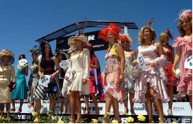 MYER Fashions on the Field at Flemington for the Melbourne Cup